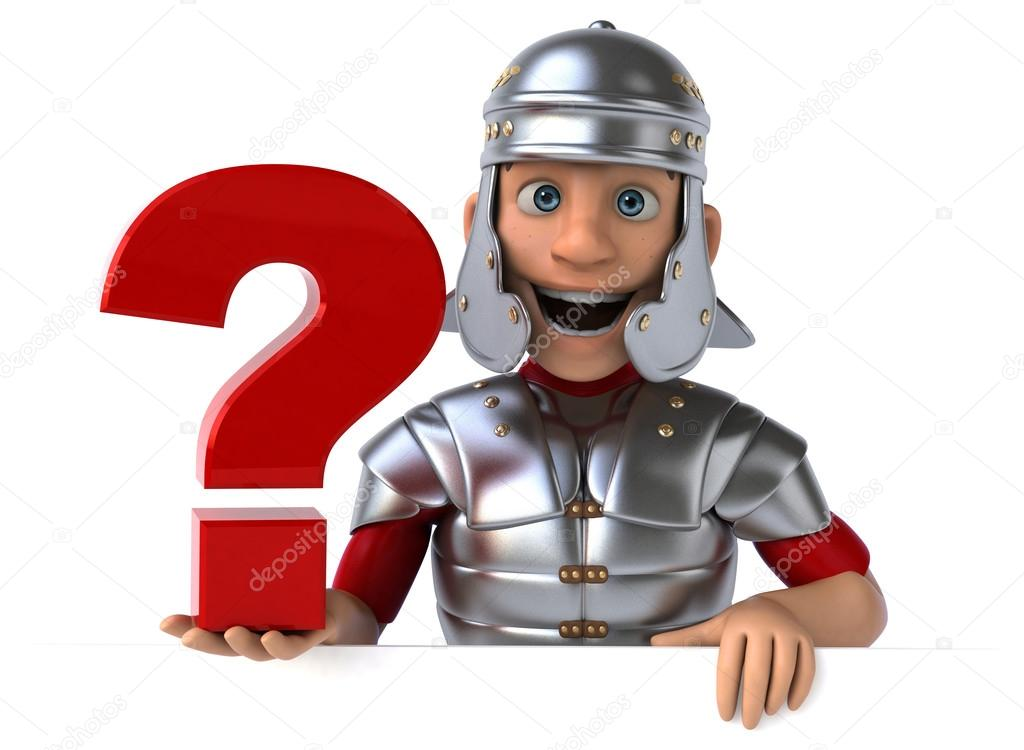 Cartoon roman soldier — Stock Photo © julos #70123101