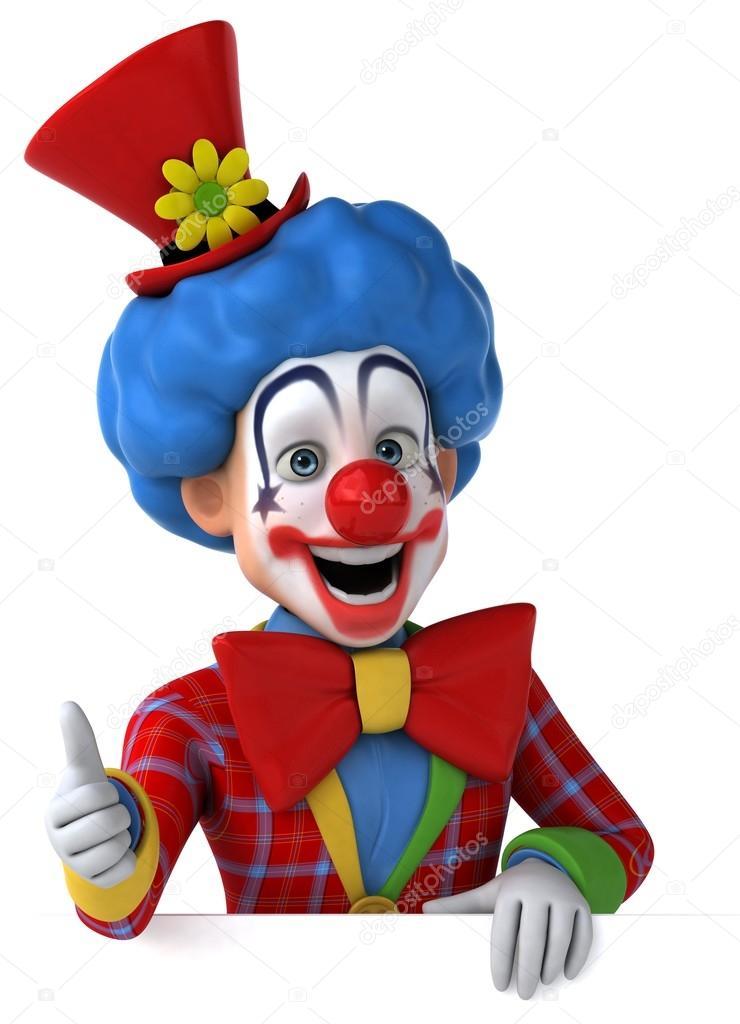Lustige Cartoon Clown Stockfoto Julos 72012871