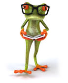 Fun cartoon frog