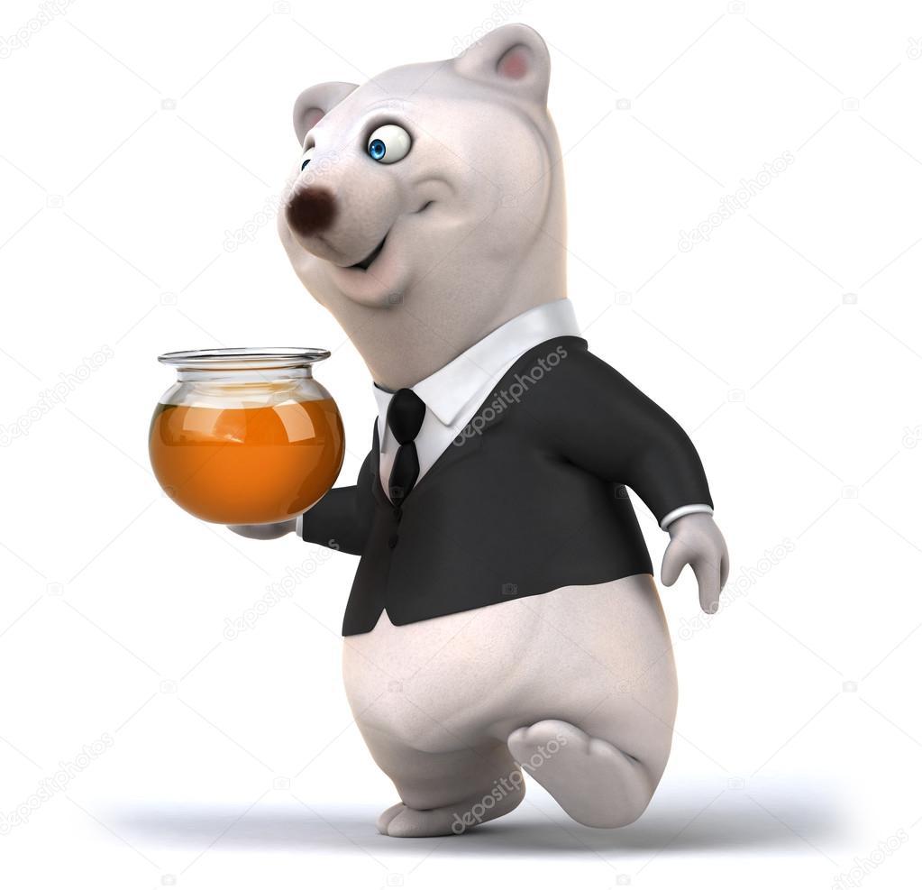 Orso bianco del fumetto u foto stock julos