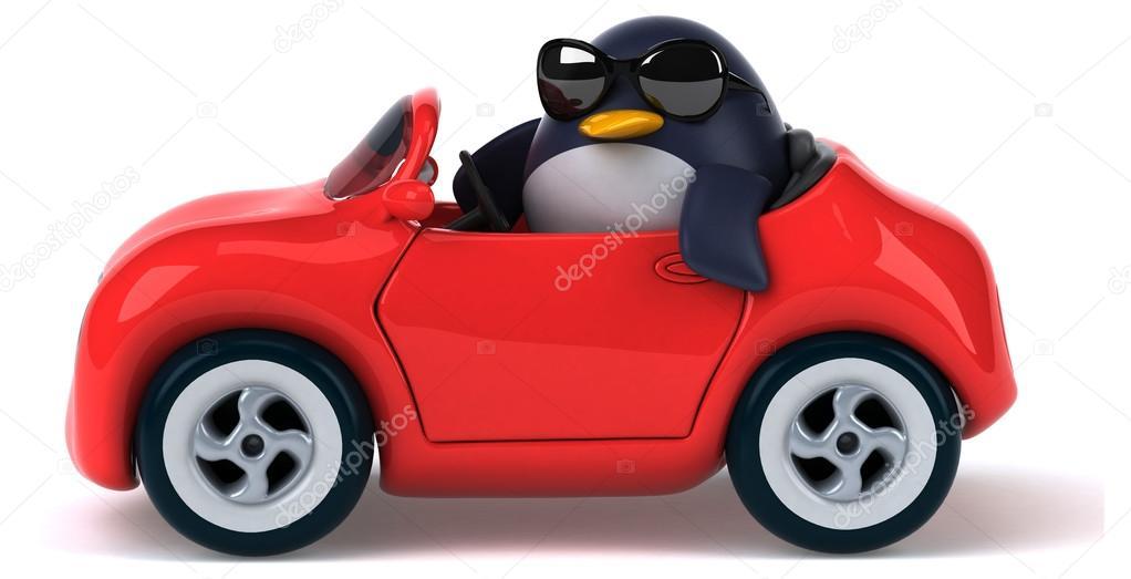 Penguin Car Pictures