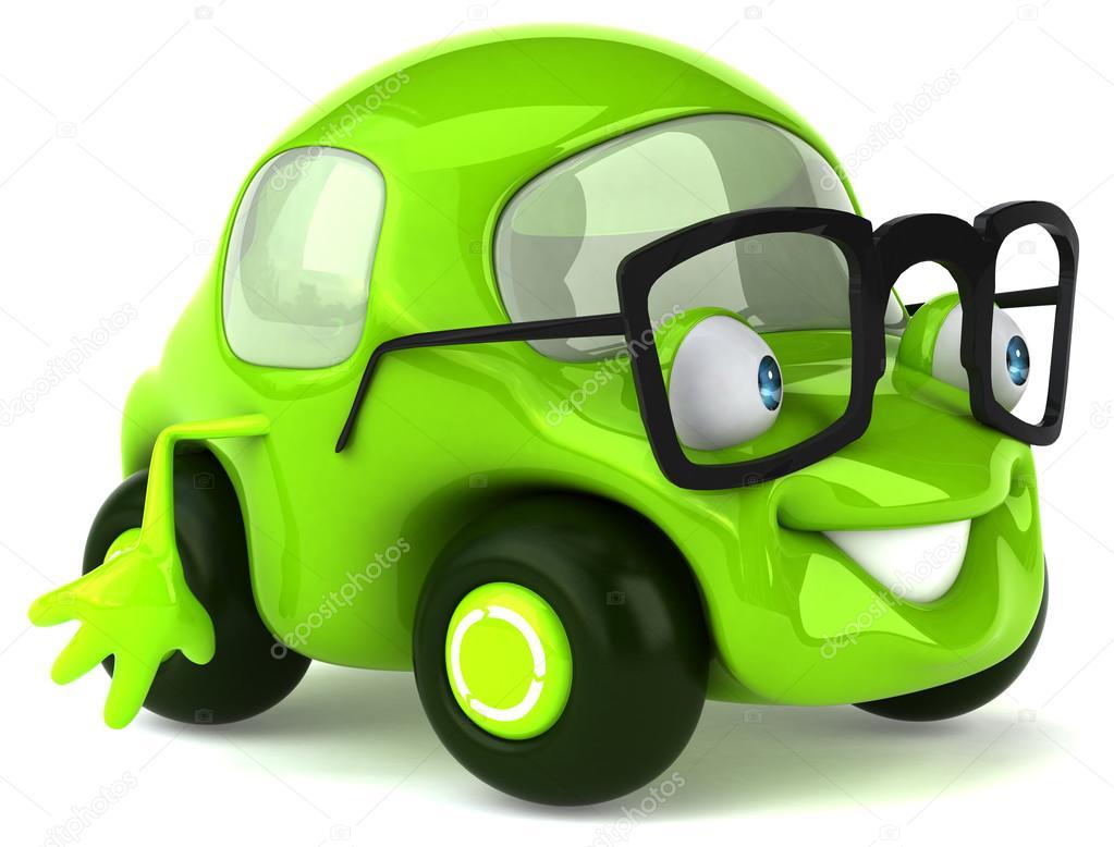 Divertimento auto dei cartoni animati — foto stock julos