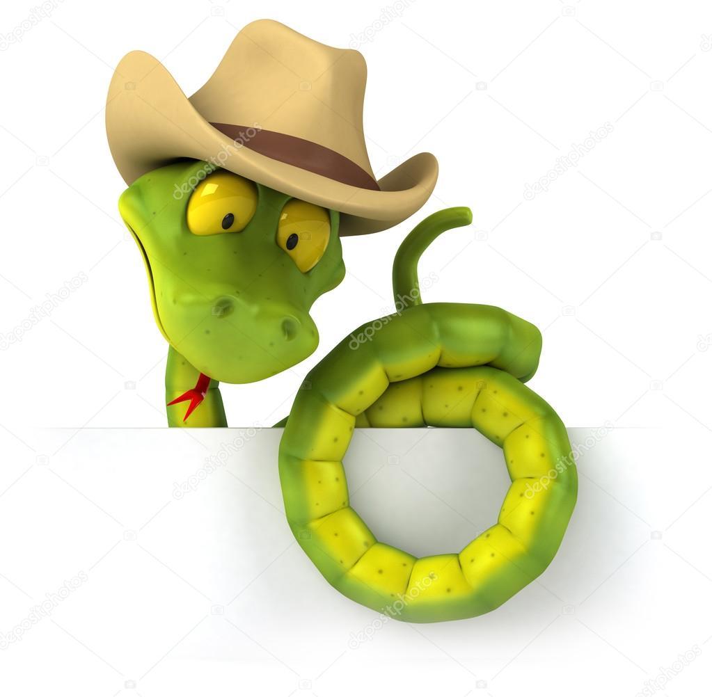 9b72519a19f Fun cartoon snake — Stock Photo © julos #98181268