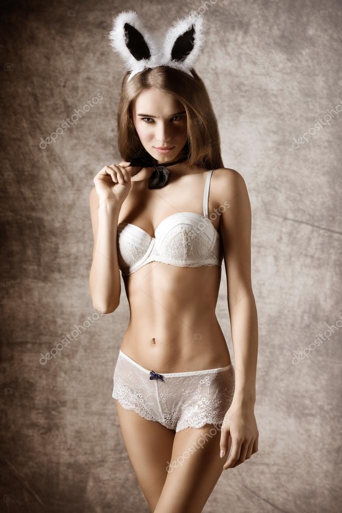 30c3ad0e2b Sexy woman in lingerie — Stock Photo © carlodapino  67053519
