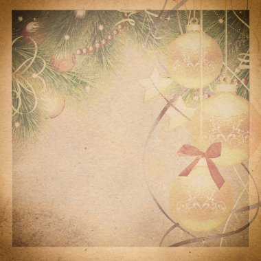 Vintage christmas background.
