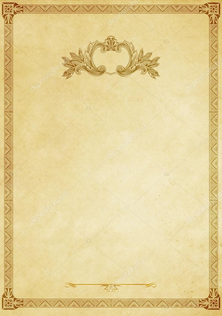 Old Fashioned Template