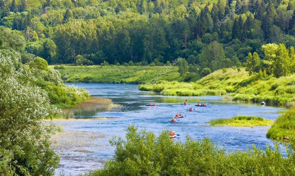 Ugra river