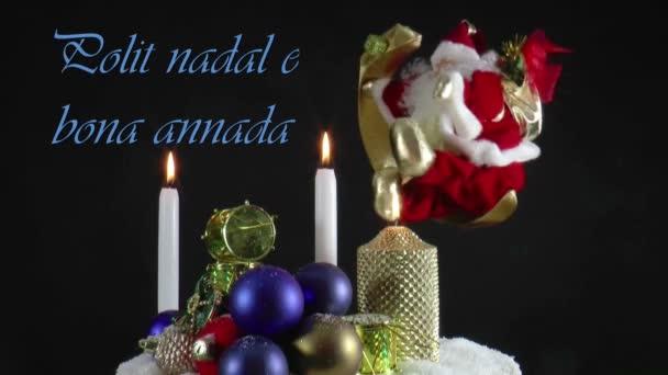 Živé pohybující vánoční přání