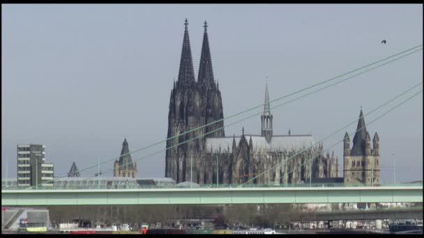 Westufer der Stadt Köln