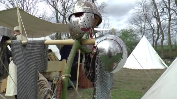 A fair in Middle Ages style