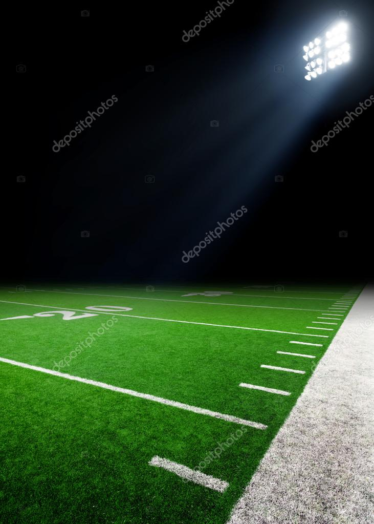 Fussball Feld Hintergrund Stockfoto C Mblach 95664094