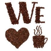 Fényképek Hogy szeretjük a kávé