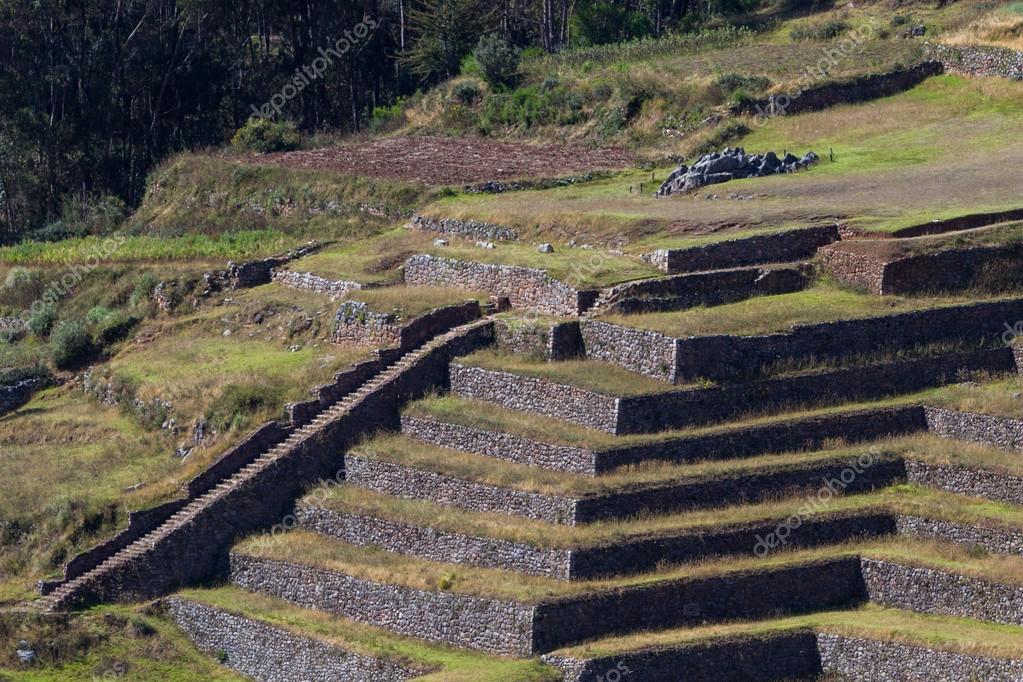 Inca Farming Terraces Stock Photo Wollertz 119919938