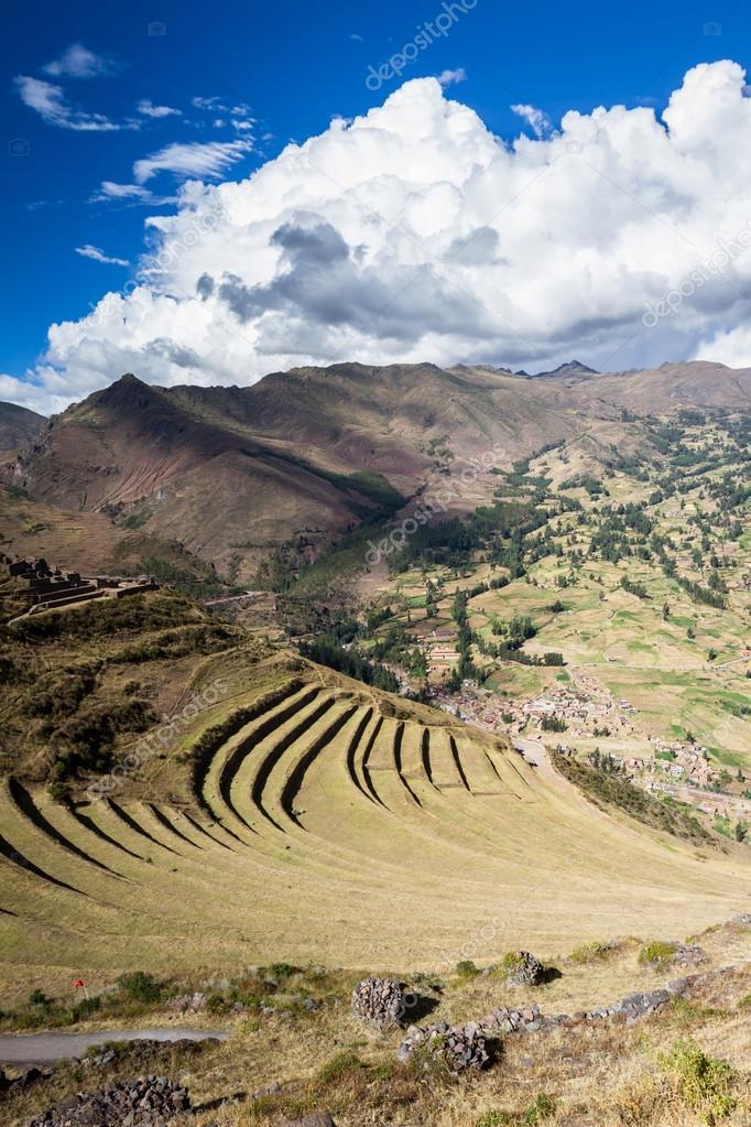 Terrazas De Cultivo Por Los Incas Fotos De Stock