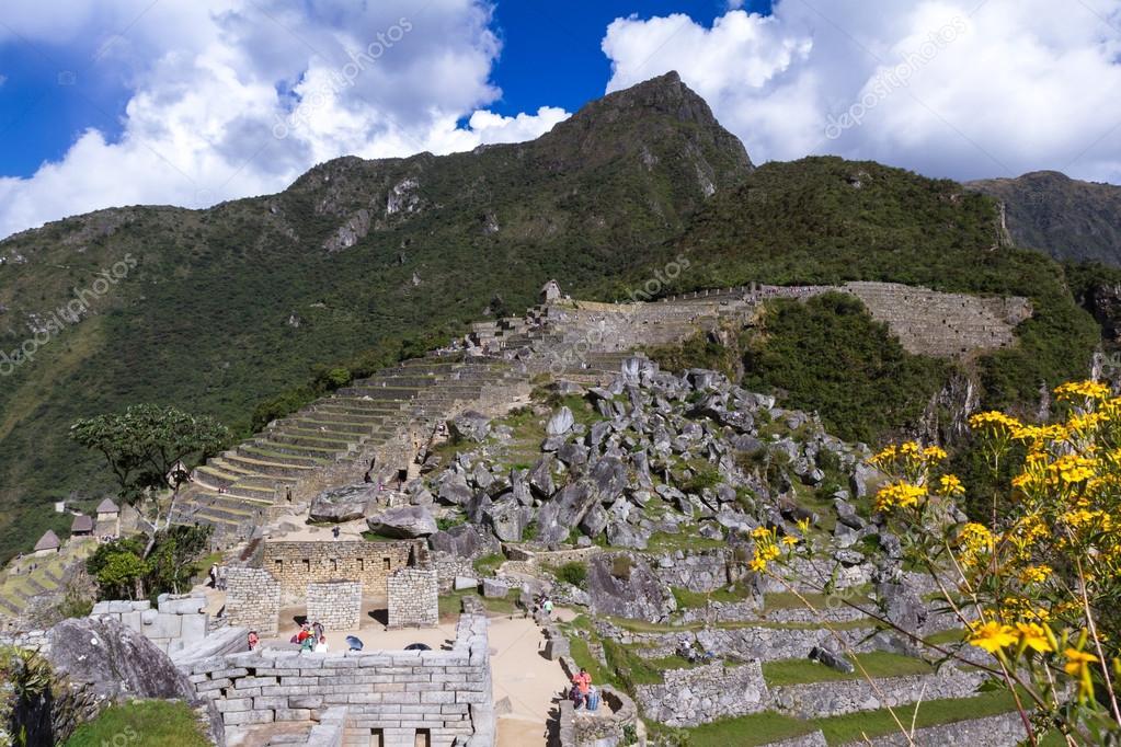 Terrazas De Cultivo En Machu Pichu Foto Editorial De Stock