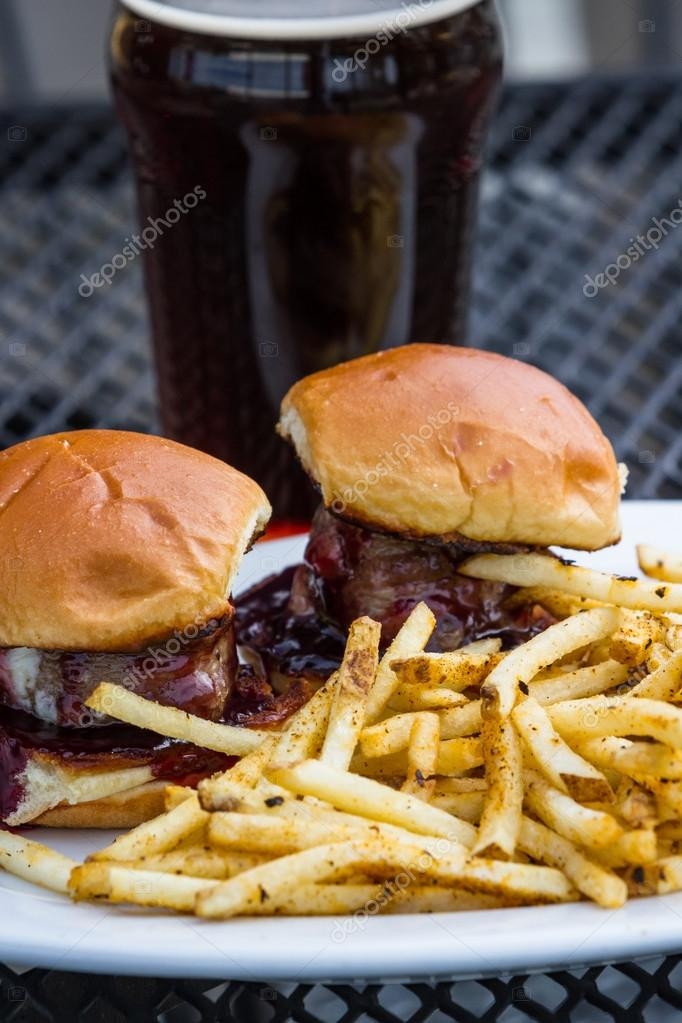 grilled tenderloin sliders