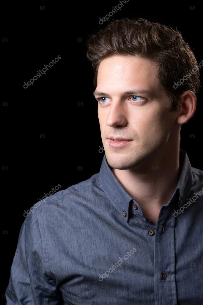 Braune Haare Blaue Augen Männchen Stockfoto Erpseattle 60635505