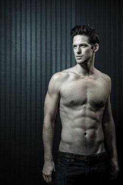 Muscular Toned Caucasian Male