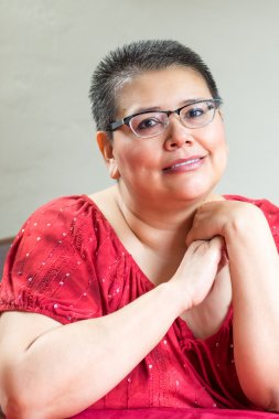 Hispanic Woman Diagnosed With Breast Cancer