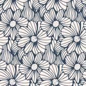 Černá a bílá květina pozadí.