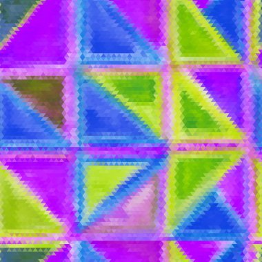 Seamless mosaic colorful background.