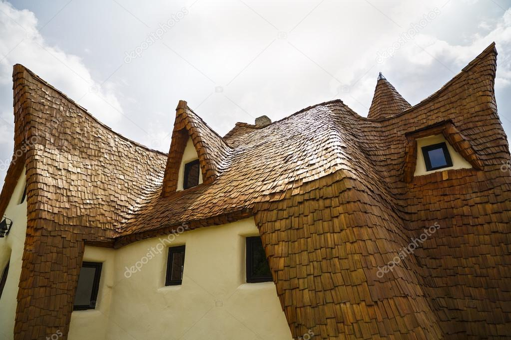 clay castle fairy valley romania 27 july 2016 the pension made of clay and other natural materials is almost 90 ready photo by czamfir