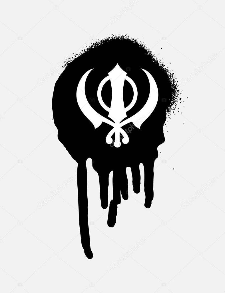 Retro grunge sikhism symbol stock vector baavli 111890186 retro grunge sikhism symbol stock vector biocorpaavc