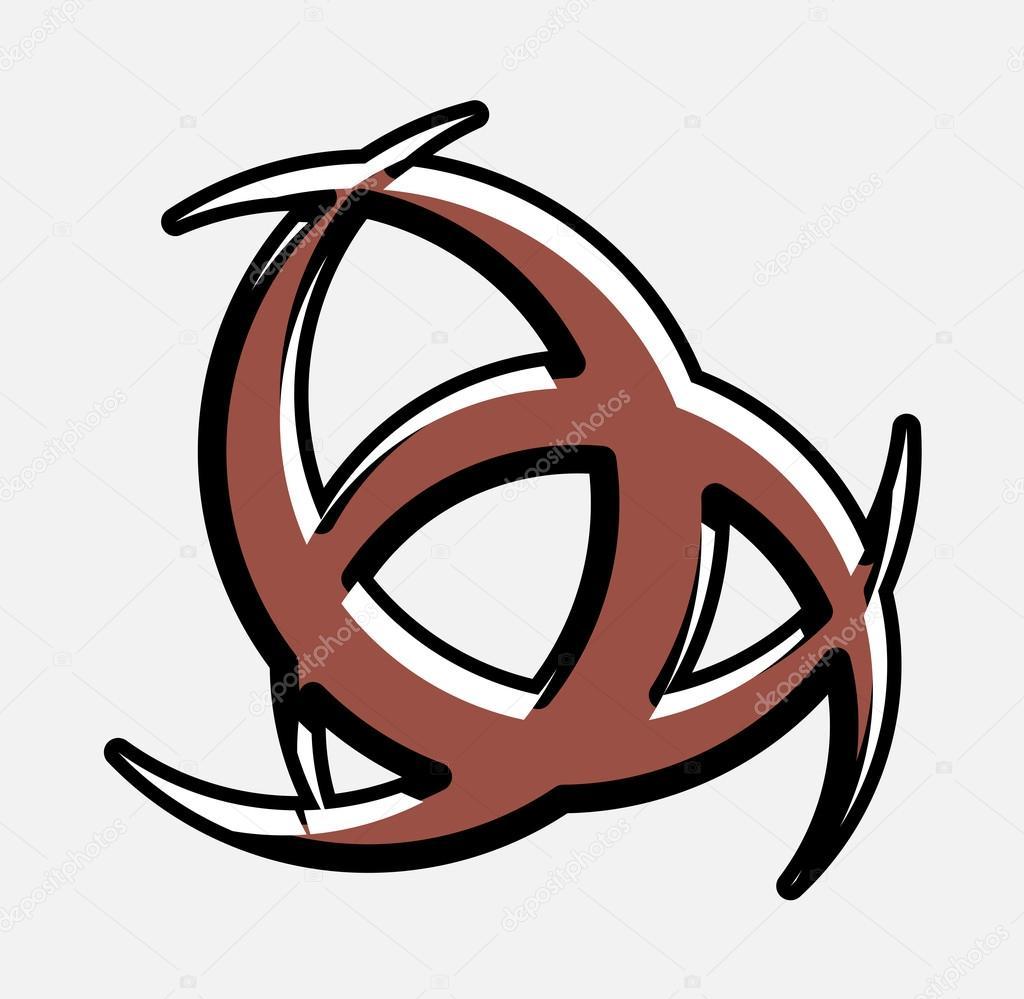 Retro horn of odin symbol design stock vector baavli 111891914 retro horn of odin symbol design stock vector buycottarizona