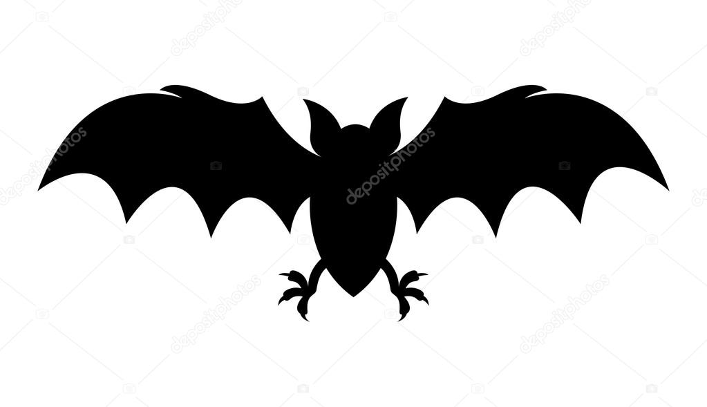 Dibujos: murcielagos halloween | Horrible murciélago de Halloween ...
