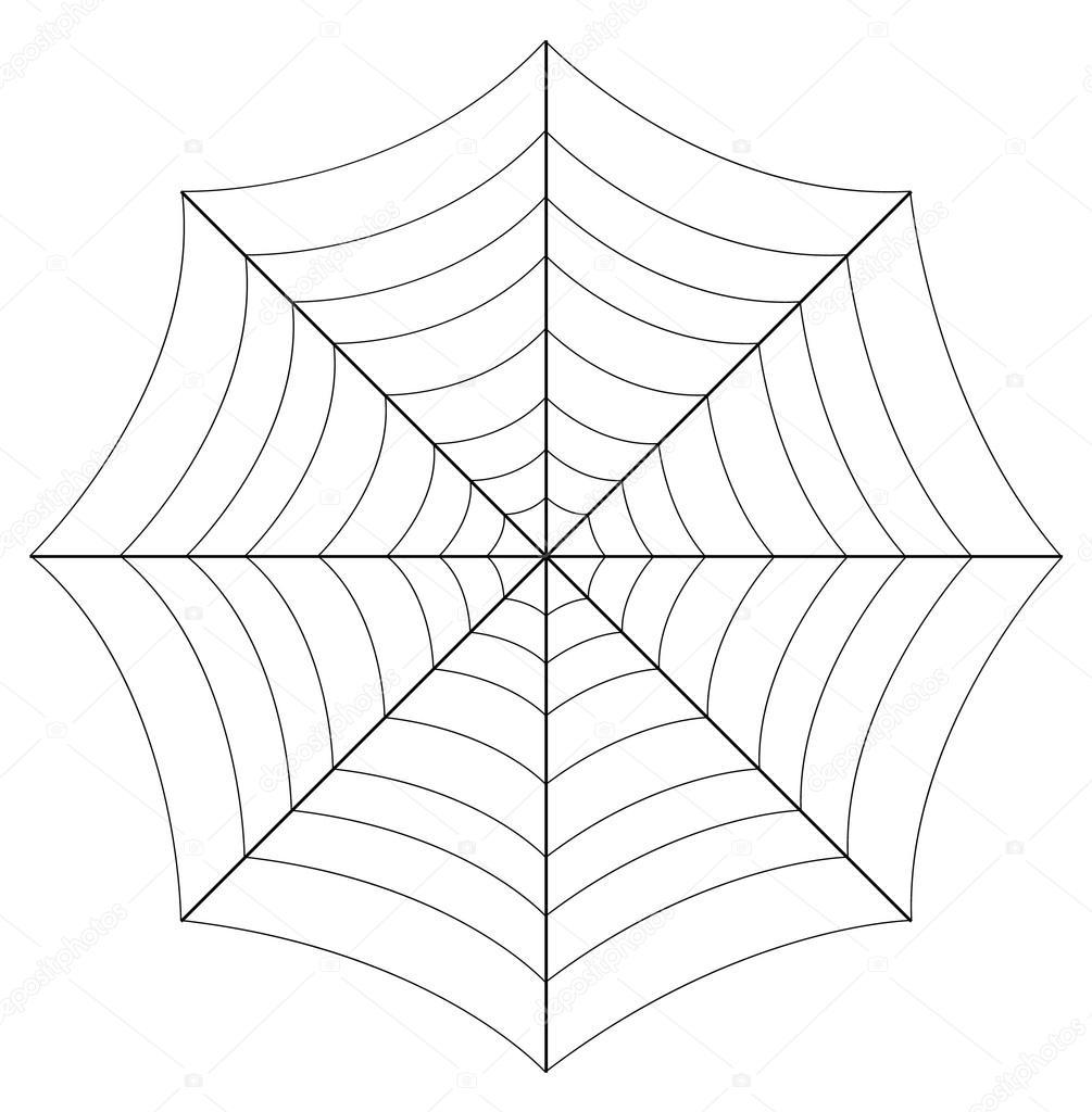 spider web vector art design stock vector baavli 57382335