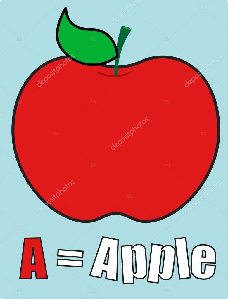 アップル学校テンプレート ストックベクター baavli 57758149