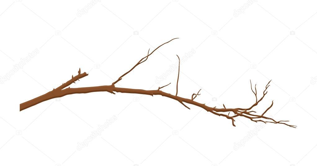 elemento de rama de  u00e1rbol muerto vector de stock Vector Dead Tree Root dead tree vector free download