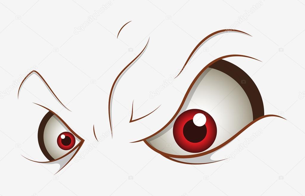 evil cartoon eyes - 1023×659