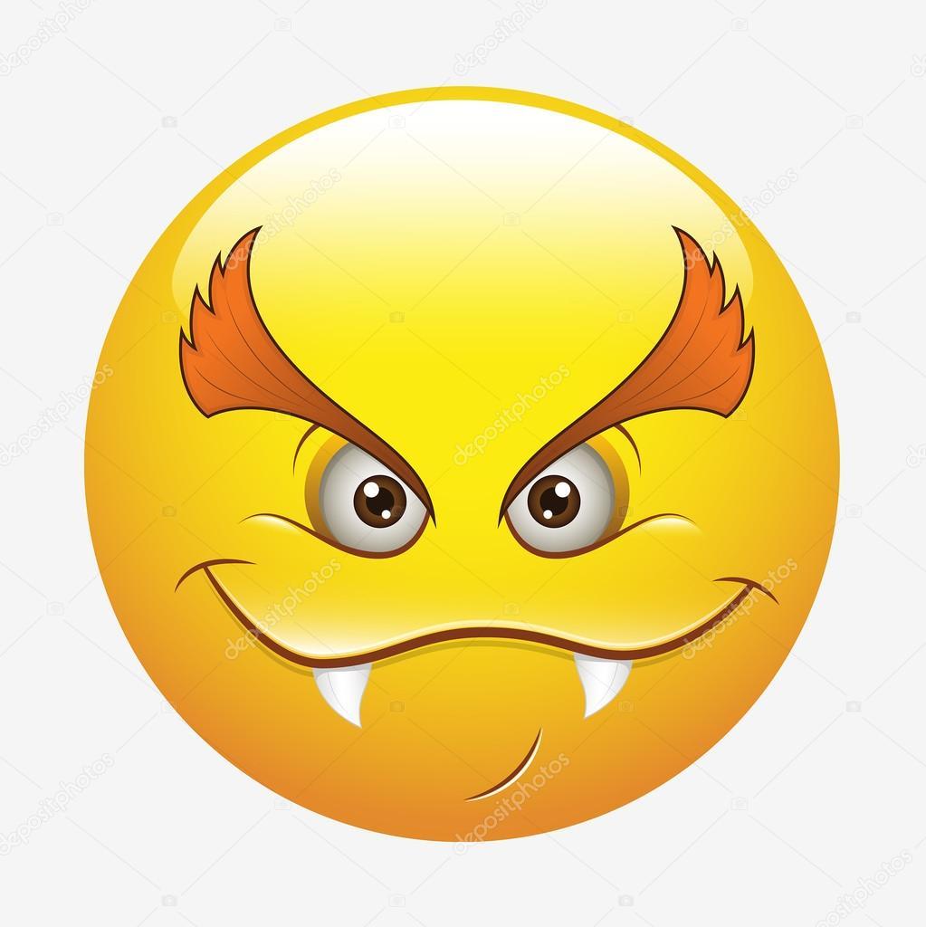 Mauvais mauvais smiley heureux image vectorielle baavli 61224411 - Regles qui sentent mauvais ...
