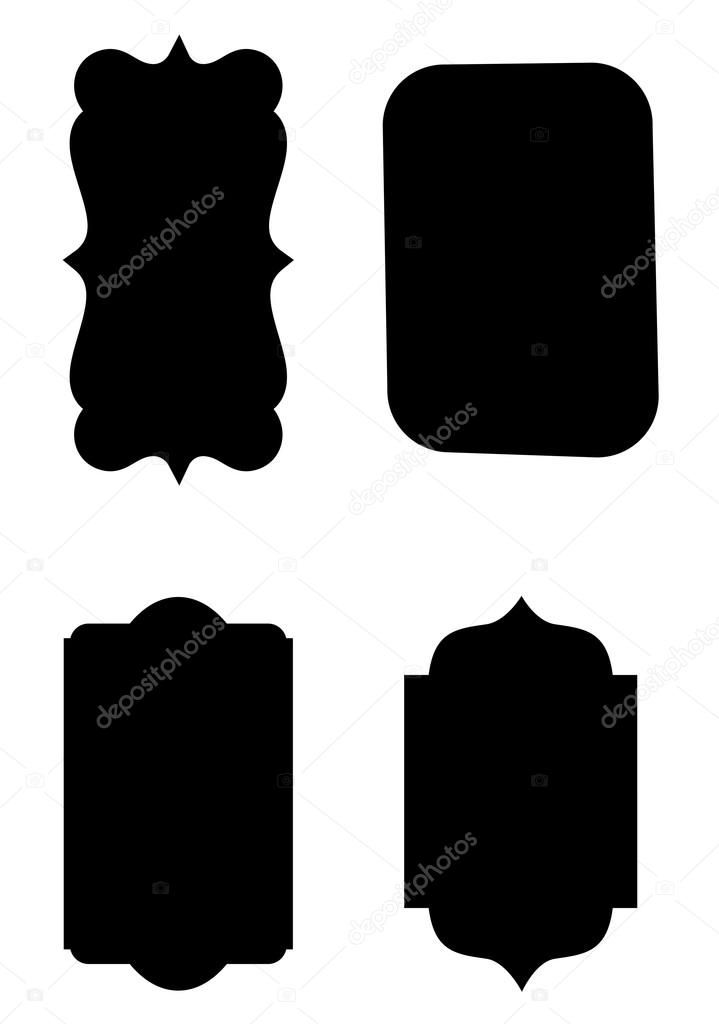 business labels vector shapes stock vector baavli 62674915 rh depositphotos com free vector label shapes illustrator