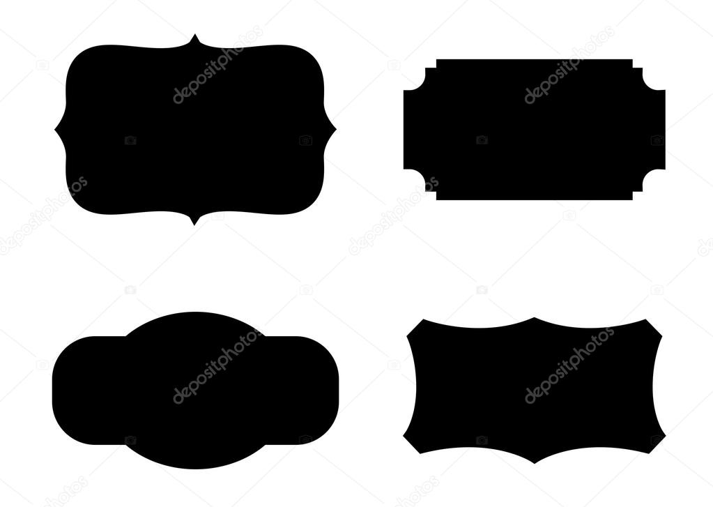 label shapes vector stock vector baavli 62677267 rh depositphotos com  free vector label shapes