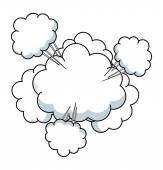 Vektorové Cloud Burst