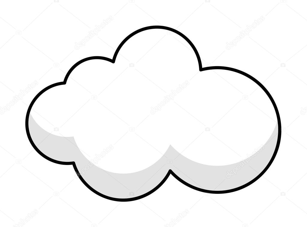 Cloud Frame Banner Vector — Stock Vector © baavli #62778705
