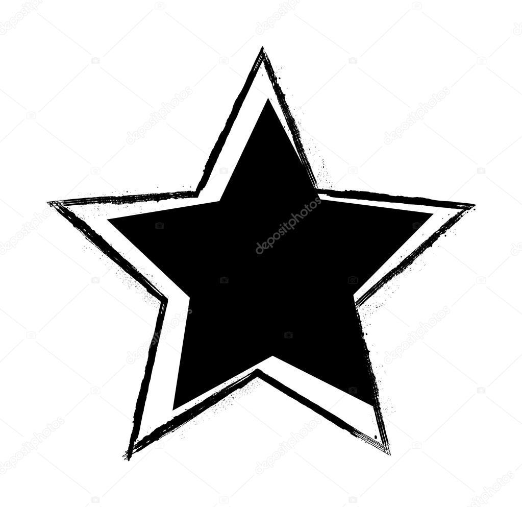 star shape vector stock vector baavli 63674133 rh depositphotos com Farmhouse Shapes Abstract Shapes
