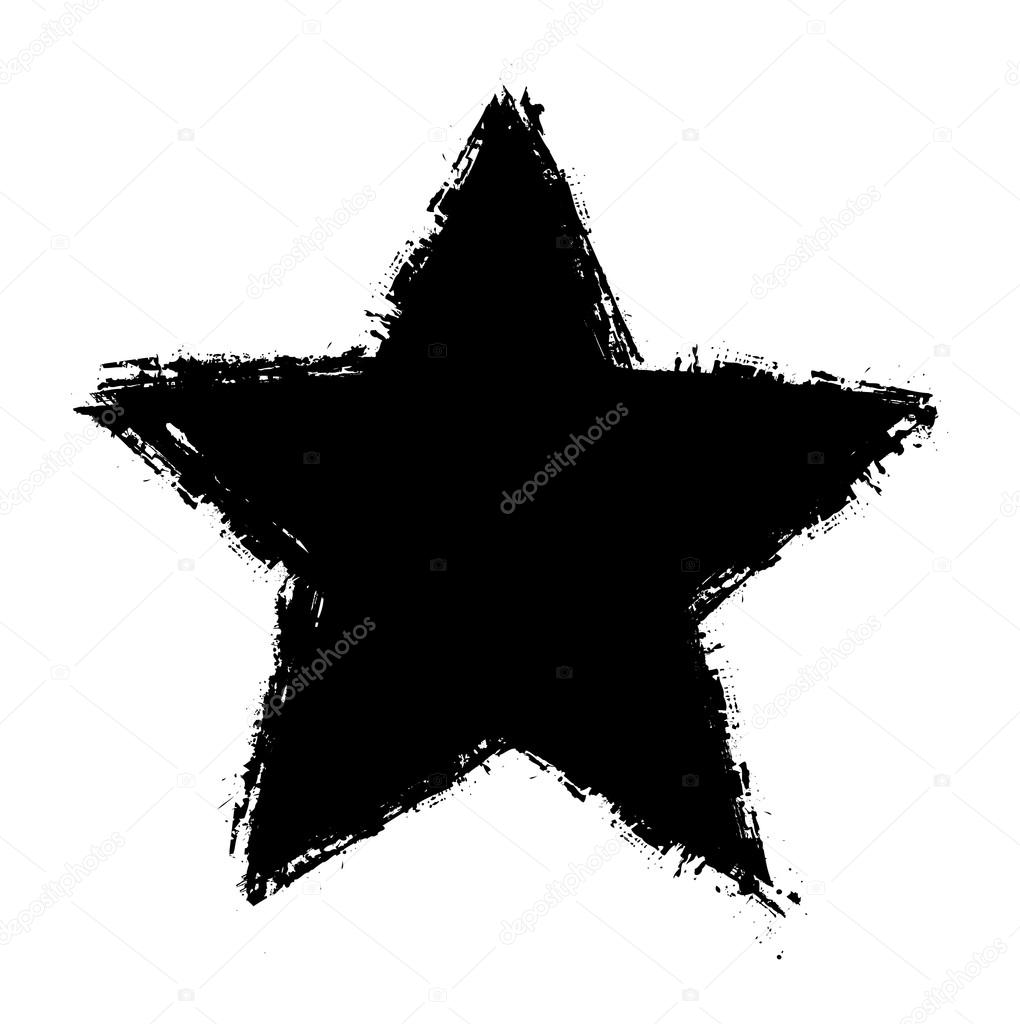 grunge star shape vector stock vector baavli 63674363 rh depositphotos com Abstract Shapes Typography Shapes