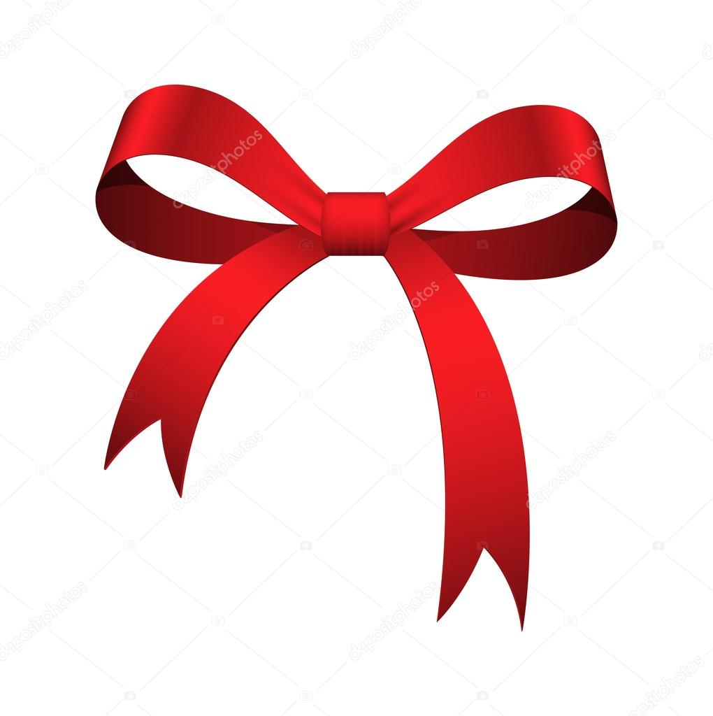 christmas ribbon bow vector stock vector baavli 63733745 rh depositphotos com bow tie vector bow vector black and white