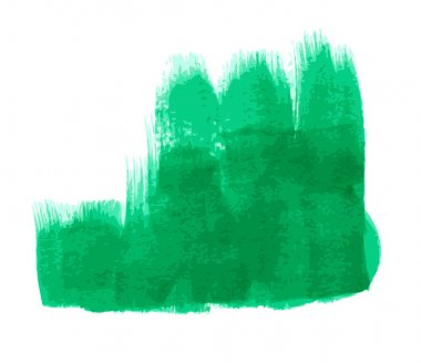 Abstract Grunge Texture Green Paint Banner