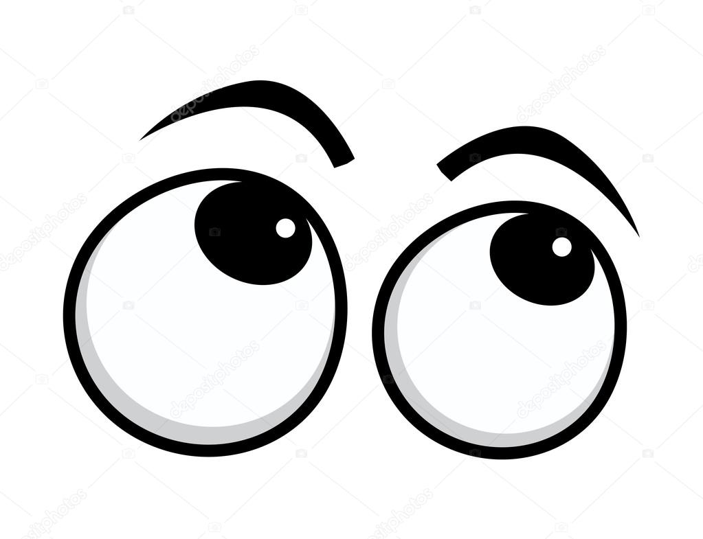 rolling eyes cartoon eyes stock vector baavli 70047863 rh depositphotos com vector eye care vectoreye