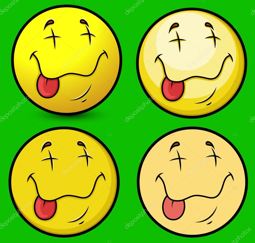 Ecstasy face smiley stock vector baavli 98038742 comic dead emoji characters face expression vector illustration vector by baavli biocorpaavc