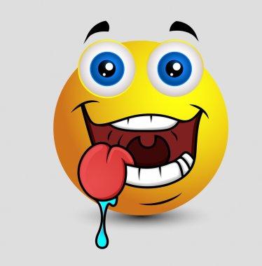 Drooling Emoji Smiley Emoticon