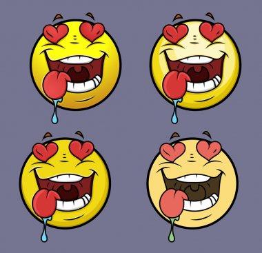Love Struck Emoji Smiley Emoticon