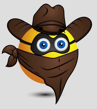 Cow Boy Super hero Emoji Smiley Emoticon