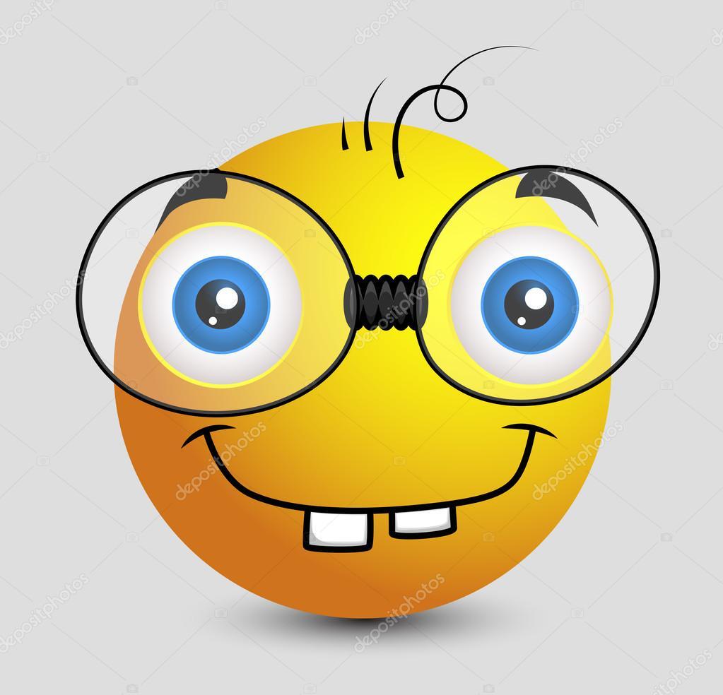 Depositphotos Stock Illustration Funny Book Worm Emoji Smiley Emoticon Faces Happy Sad