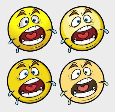 Shouting Emoji Smiley Emoticon