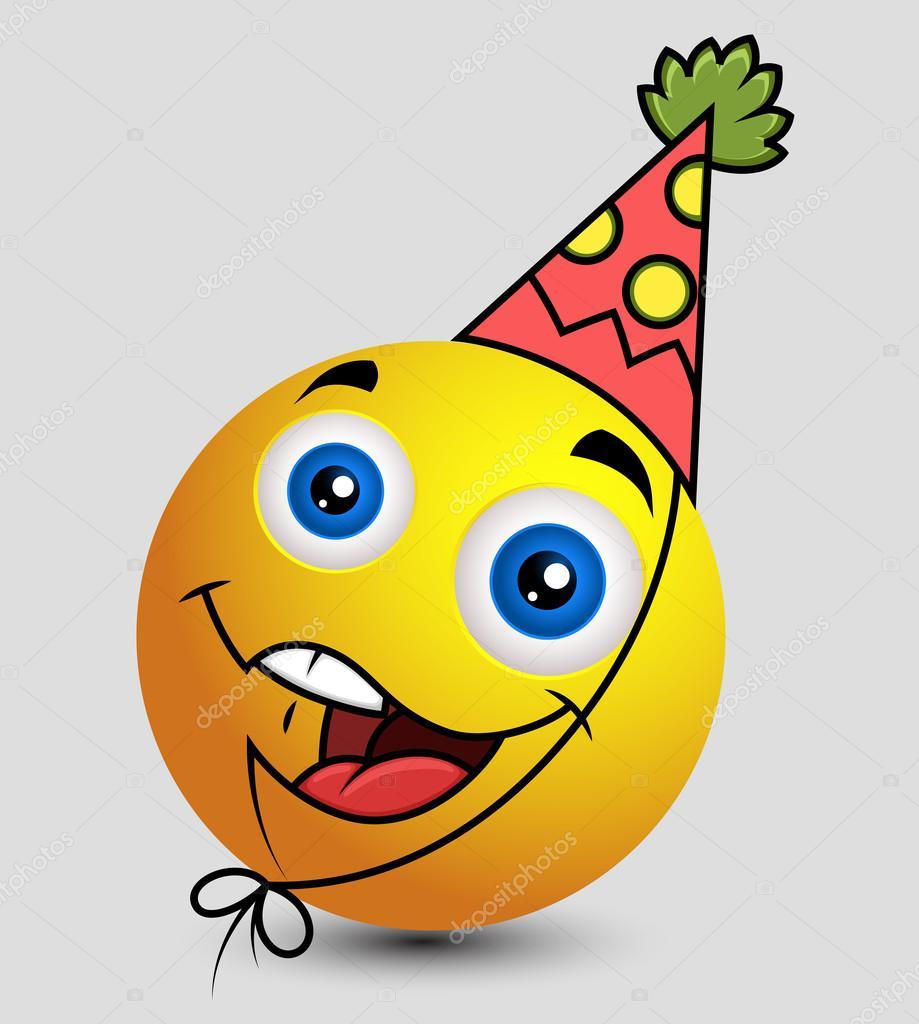 smajlíci k narozeninám Narozeniny chlapec Emoji smajlíka smajlík — Stock Vektor © baavli  smajlíci k narozeninám